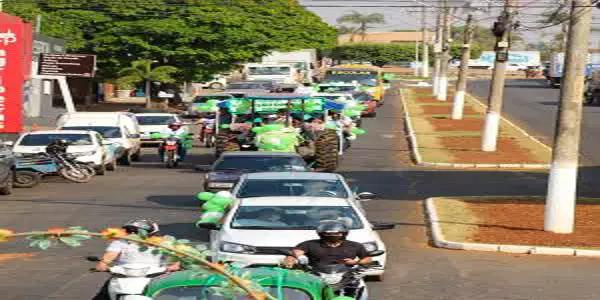 Carreata Setembro Verde apela por inclusão social de pessoas com deficiência